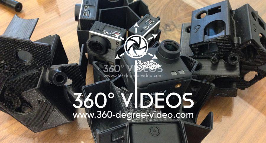 360 camera rig mount gopro