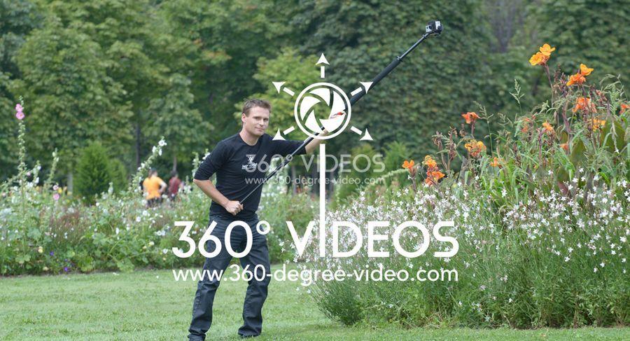 360 degree movie camera