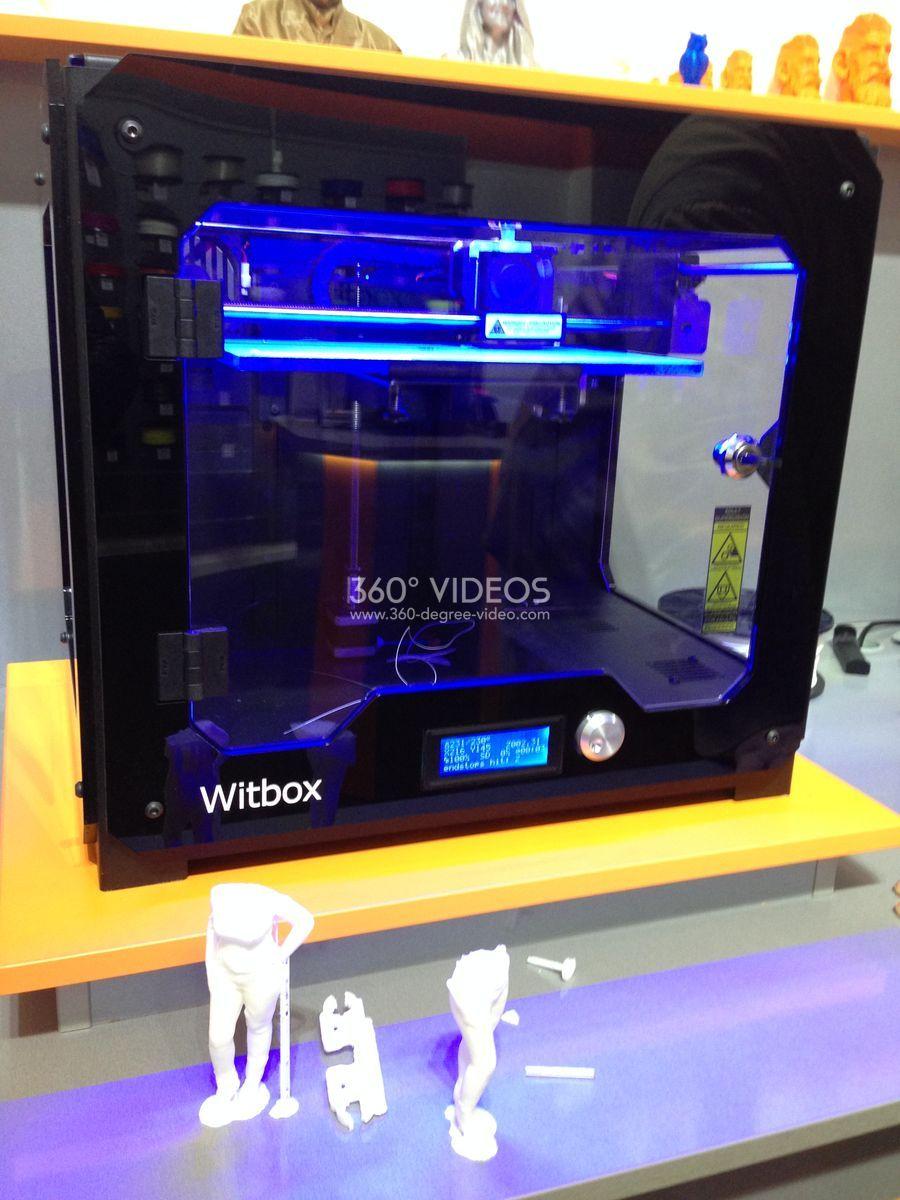 3d printer witbox