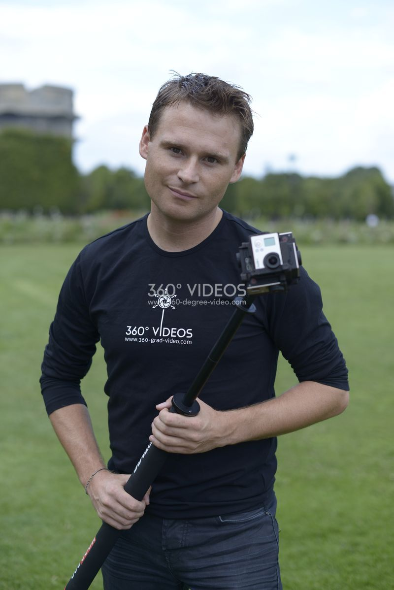 Alessandro Dimas 360 degree video camera