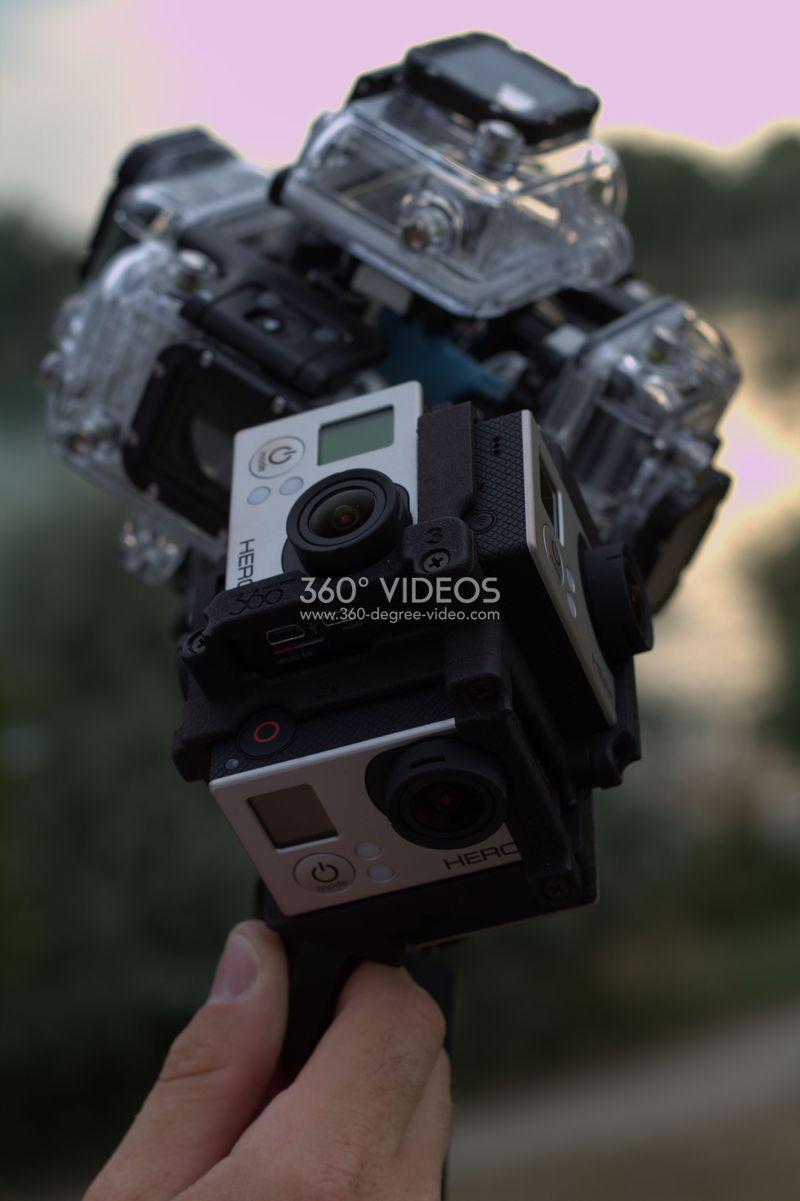 gopro 360 degree rig