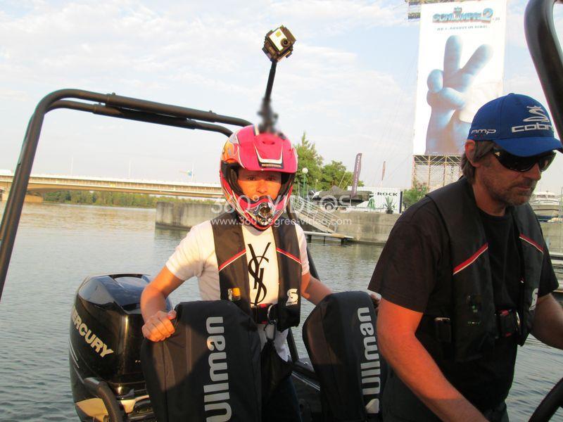 helmet 360 video rig