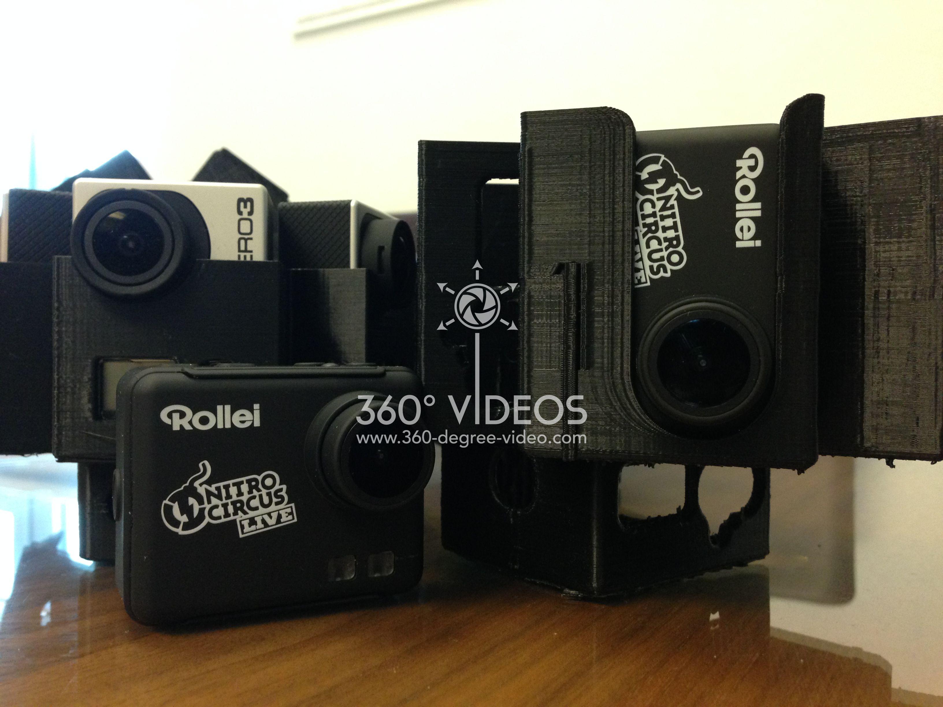 360 degree video mount