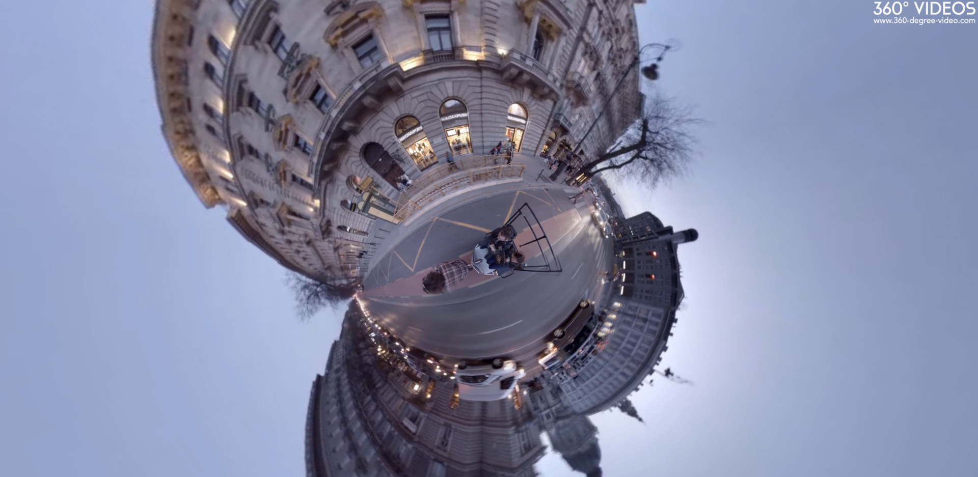 Budapest City 360 degree