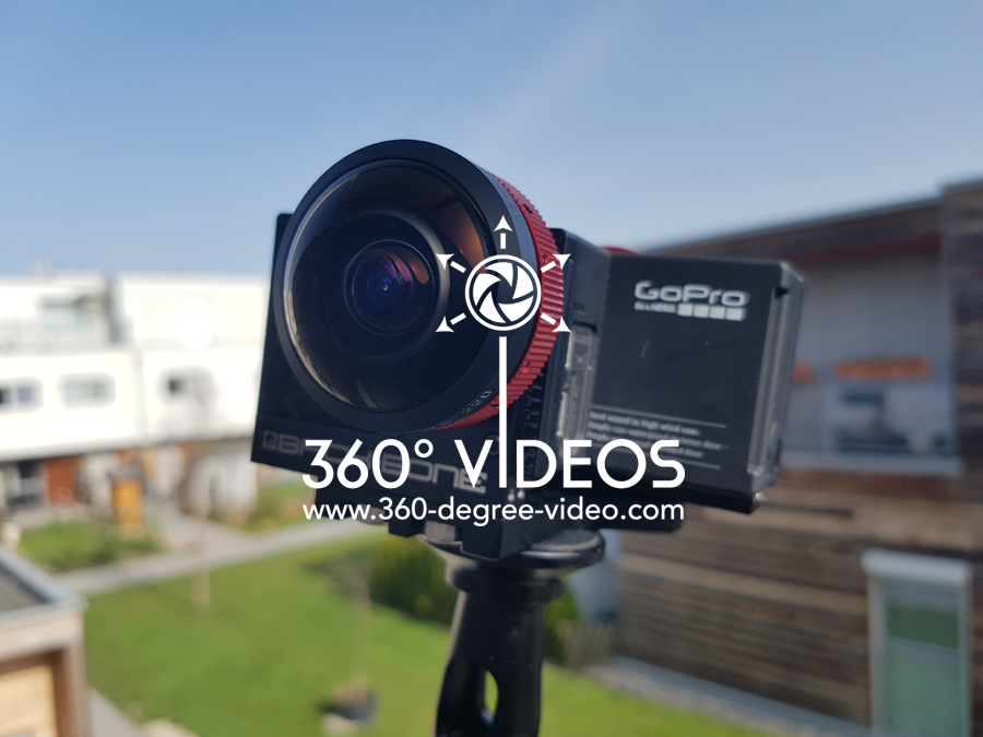 360 video fisheye GoPro