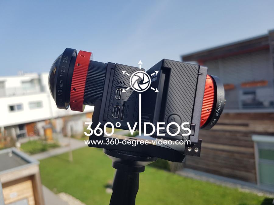 Dual Camera GoPro 360 Video