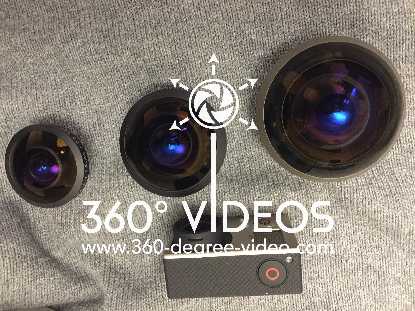 Fisheye 360 video
